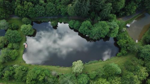 Luftaufnahme Teich 2