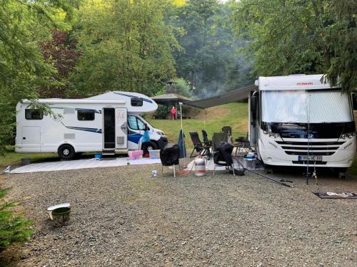 Camping am Teich