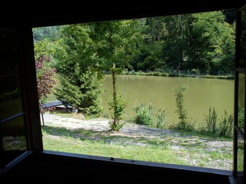 Hütte / Blick auf Teich 1